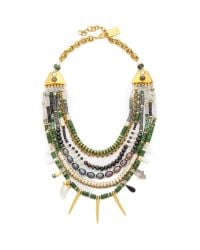 Lizzie Fortunato | Turquoise And Riad Necklace - Blue/green | Lyst