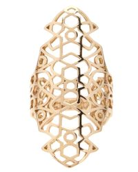Repossi | Metallic Cut-out Ring | Lyst