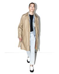 3.1 Phillip Lim | Natural Double-sleeve Belted Trench Coat for Men | Lyst