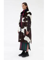 3.1 Phillip Lim Natural Tailored Cowhide Coat