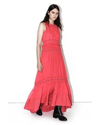 3.1 Phillip Lim | Pink Pintucked Gown | Lyst