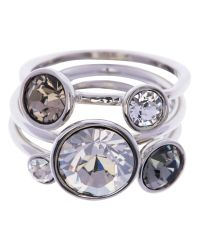 Ted Baker | White Jackie Jewel Clustered Ring | Lyst
