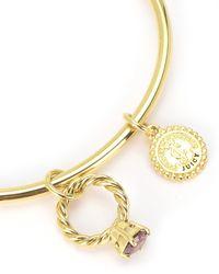 Juicy Couture | Metallic Ruby Ring Slider Bangle Bracelet | Lyst