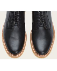 Frye | Black James Crepe Oxford for Men | Lyst