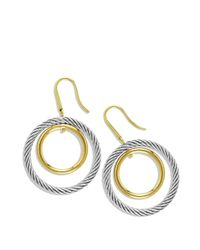 David Yurman | Metallic Mobile Earrings With Gold | Lyst