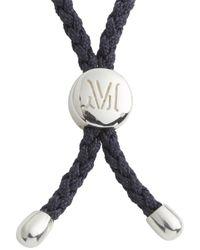 Monica Vinader - Metallic Fiji Wisdom Sterling Silver Bracelet - Lyst