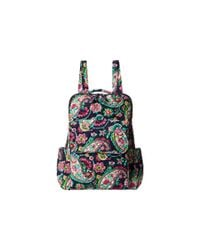 Vera Bradley | Multicolor Lighten Up Just Right Backpack | Lyst