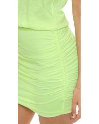 Sundry | Yellow Summer Tank Dress - Neon Blue | Lyst