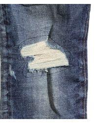 H&M | Blue Slim Low Jeans for Men | Lyst