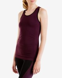 Ted Baker | Purple Seamless Sports Vest | Lyst