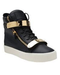 Giuseppe Zanotti | Blue High Top Trainer for Men | Lyst