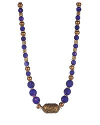 Vanessa Mooney | Purple Mars Statement Necklace | Lyst