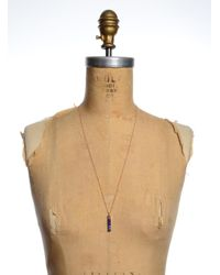 Lily Kamper - Mini Blue & Copper Matrix Pendant - Sold Out - Lyst
