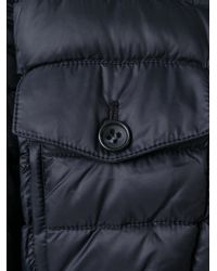 RED Valentino - Blue Quilted Cropped Jacket - Lyst