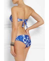 J.Crew - Blue Surf Tie-Dye Bikini Briefs - Lyst