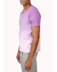 Forever 21 | Purple Ombré Tee for Men | Lyst