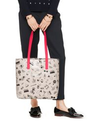 Kate Spade | Multicolor Things We Love Tote | Lyst