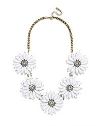 BaubleBar - White Poppy Collar - Lyst