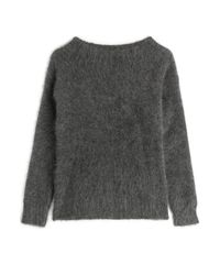 Burberry Brit - Gray Pullover With Mohair - Grey - Lyst