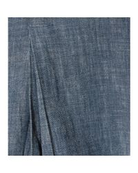 Citizens of Humanity - Blue Amie Chambray Shirt - Lyst