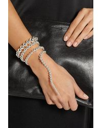 Paula Mendoza | Metallic Nereus Silver-Plated Bracelet | Lyst