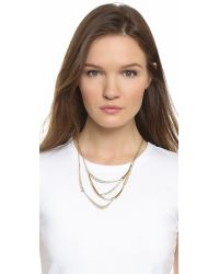 Alexis Bittar | Gold Elements Rocky Vine Bib Necklace | Lyst