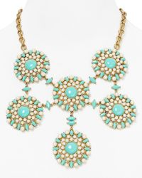 Carolee | Blue Little Surfer Girl Statement Necklace 18 | Lyst