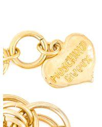 Moschino   Metallic Chain Necklace   Lyst