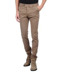 Andy Richardson - Natural Casual Trouser for Men - Lyst