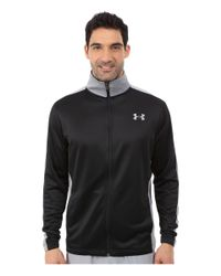 Under Armour | Black Ua Solo Dolo Warm Up Jacket for Men | Lyst