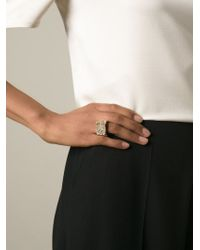 Chloé - Metallic 'eleanor' Ring - Lyst
