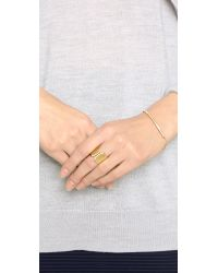 Vita Fede | Metallic Mini Aria Id Bracelet | Lyst