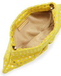 Lauren Merkin | Eve Polkadot Clutch Bag Yellow | Lyst