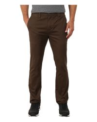 Billabong | Brown Outsider Chino Pants for Men | Lyst