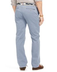 Ralph Lauren - Blue Polo Straight Fit Chino Pants for Men - Lyst