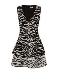 Fausto Puglisi - Multicolor Zebra Print Dress - Lyst