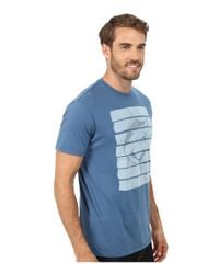 Jack O'neill - Blue Hooked Short Sleeve Screen Tee for Men - Lyst