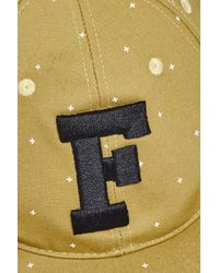 French Connection - Metallic Peter Pixal Snapback Cap for Men - Lyst