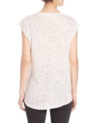 IRO - Natural Holly Splatter Tee - Lyst