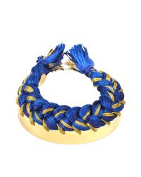 Aurelie Bidermann   Metallic Copacabana Bracelet   Lyst