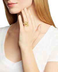 kate spade new york - Metallic Knot Ring - Bloomingdale's Exclusive - Lyst