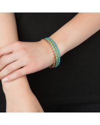 Emily & Ashley | Green Gold Oval Bangle, Chrysophase | Lyst