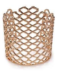 Alexis Bittar | Metallic Asymmetrical Barbed Link Cuff | Lyst