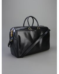 Saint Laurent - Black Classic Holdall for Men - Lyst