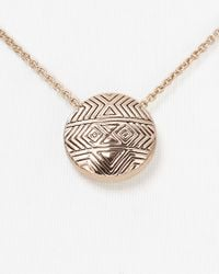 House of Harlow 1960 - Pink Tholos Mosaic Necklace 16 - Lyst