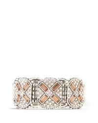 Philippe Audibert - Metallic Juline Ethnic Cross Bracelet - Lyst