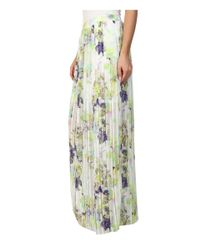 BCBGeneration   Multicolor Pleated Skirt   Lyst