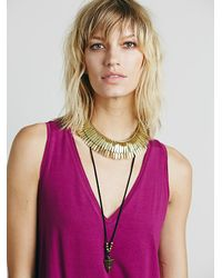 Free People | Purple Womens Verona Top | Lyst