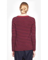 Equipment - Red Lucien Crewneck Sweater - Lyst