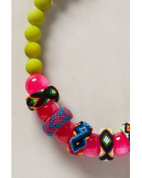 Anthropologie - Pink Starlight Mesa Necklace - Lyst